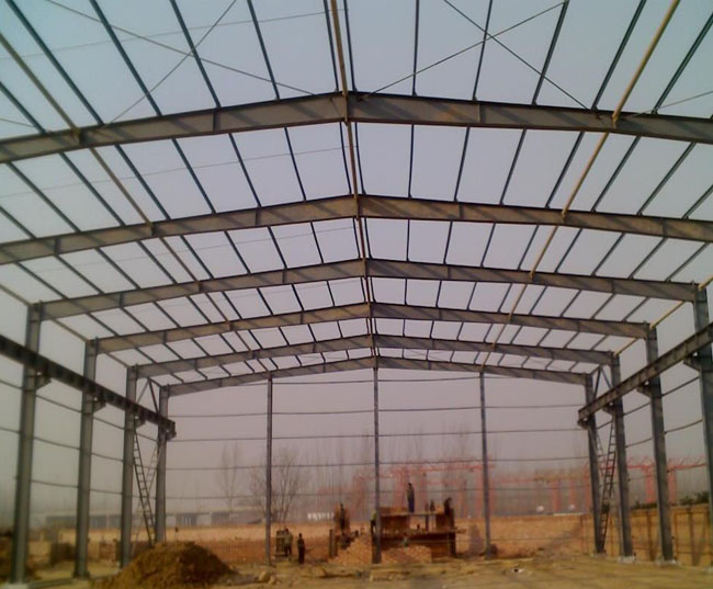 钢结构厂房-安康海龙钢架活动房有限公司